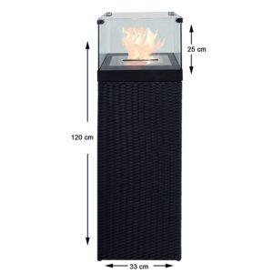 bioethanol Feuersäule