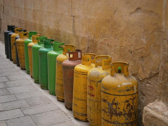Gasflasche richtig lagern