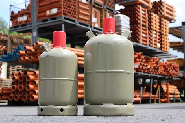 gasflaschen lagerung